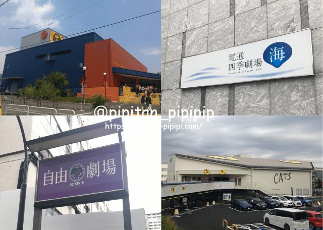 劇団四季 東京 場所